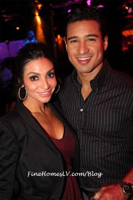 Courtney Mazza and Mario Lopez