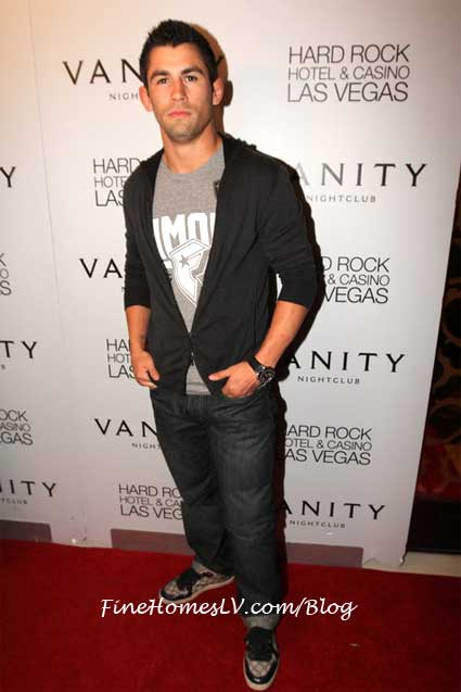 Dominick Cruz at Vanity Nightclub
