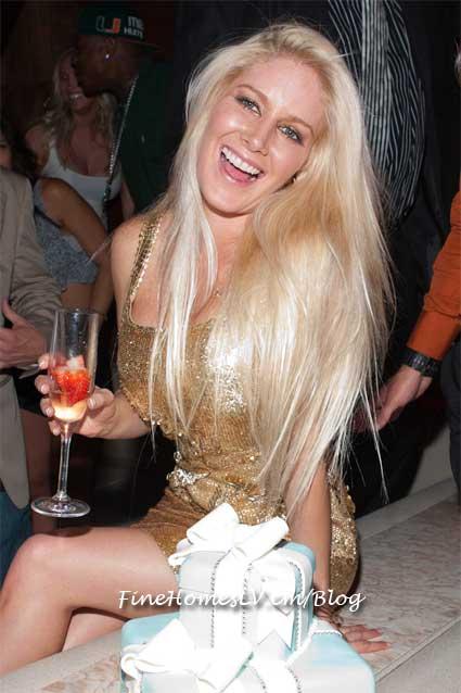 Heidi Montag at Vanity Nightclub