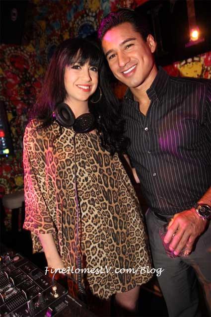 Mario Lopez and DJ Jessica Who