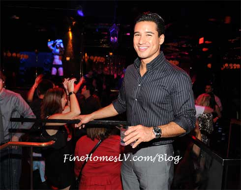 Mario Lopez at Vanity Nightclub