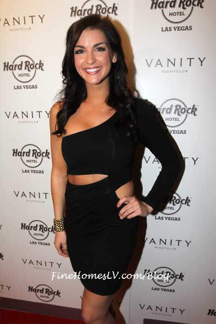 Paige Duke at Vanity Nightclub