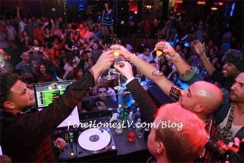 DJ Paul D at Vanity Las Vegas Nightclub