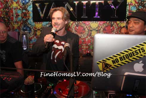 Sam trammell at Vanity Las Vegas
