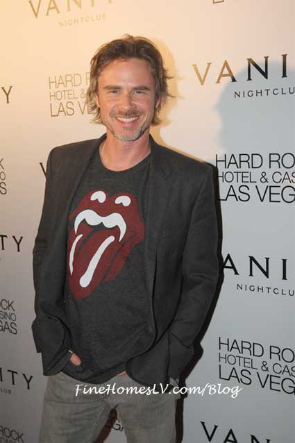 Sam Trammell at Vanity Nightclub