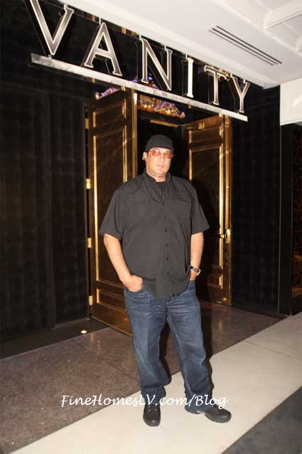 Steven Seagal at Vanity Nightclub