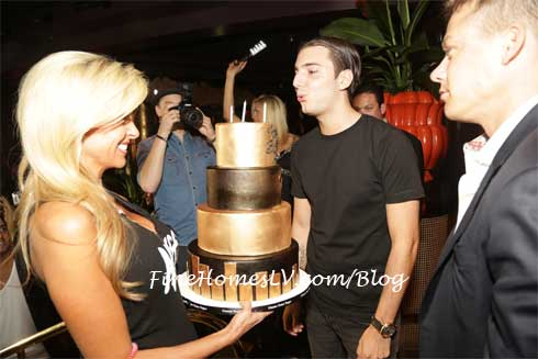 Alesso and Birthday Cake