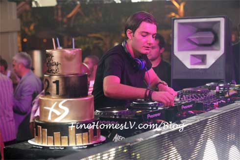 Alesso at XS Nightclub