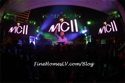 Avicii at XS Nightclub