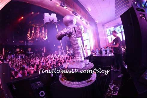 Calvin Harris at XS Nightclub