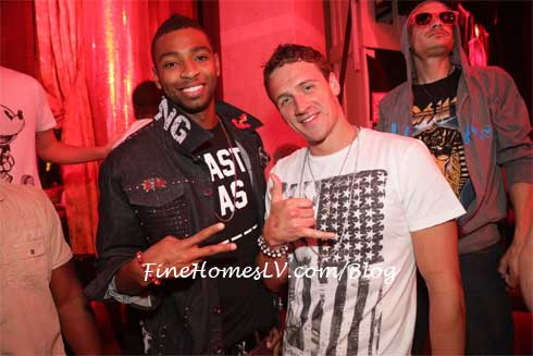 Cullen Jones and Ryan Lochte
