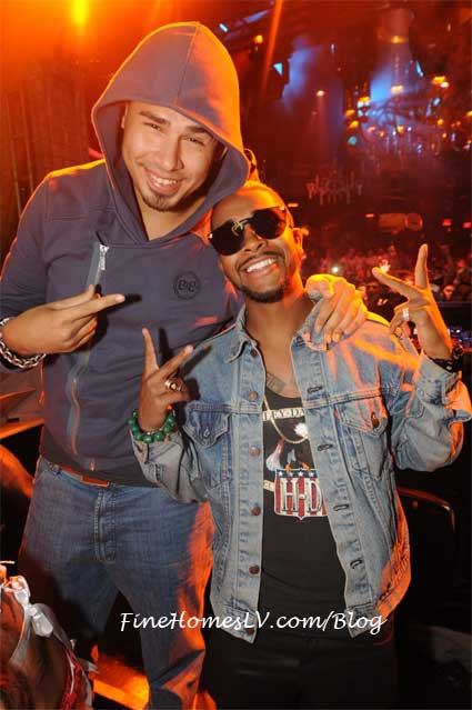DJ Afrojack and Omarion