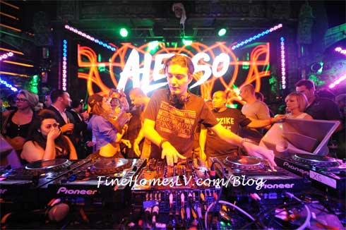 DJ Alesso at XS Nightclub