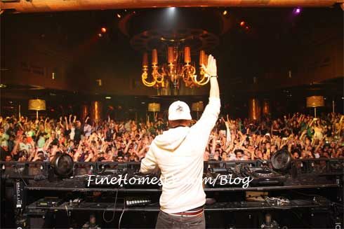 DJ Avicii at XS Nightclub