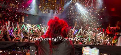 DJ Skrillex at XS Nightclub