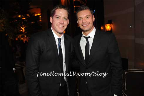 Jesse Waits and Ryan Seacrest