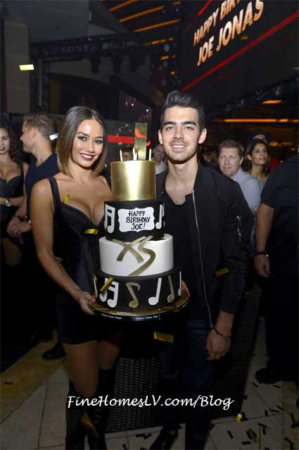 Joe Jonas at XS Las Vegas