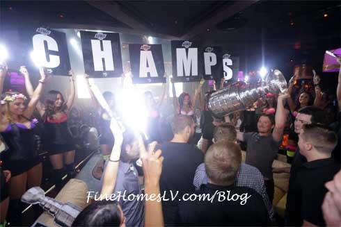 LA Kings At XS Las Vegas