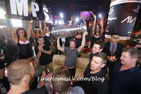 Stanley Cup at XS Las Vegas
