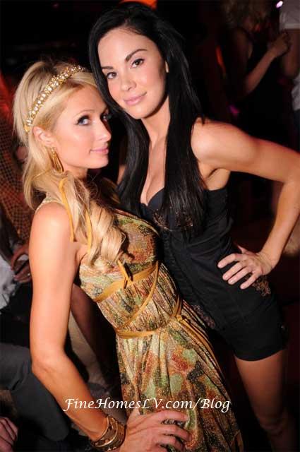 Paris Hilton and Jayde Nicole