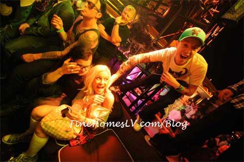 Skrillex, Holly Madison and Deadmau5