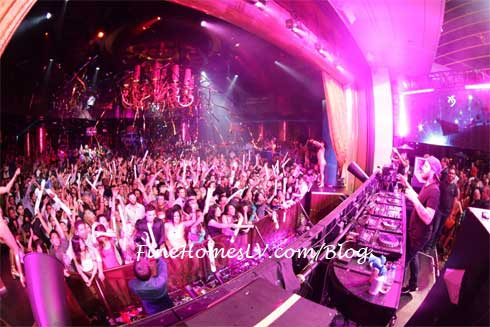 Steve Angello at XS Nightclub