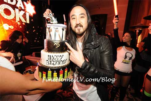 Steve Aoki Birthday Cake