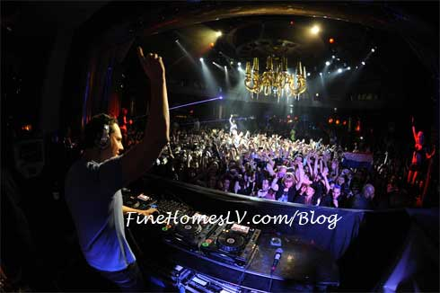 Tiesto at XS Nightclub
