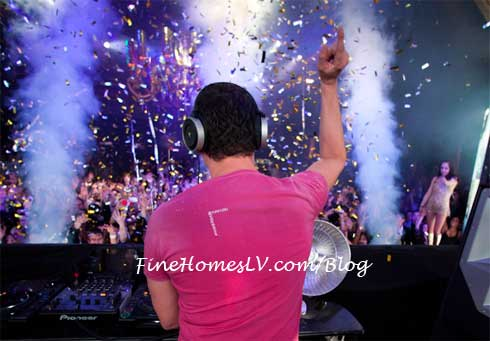 DJ Tiesto at XS Nightclub