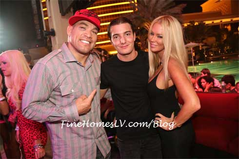 Tito Ortiz, Alesso and Jenna Jameson