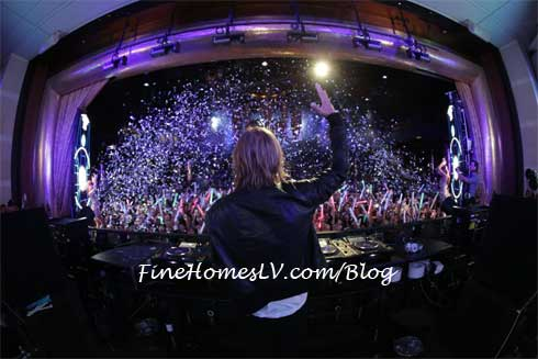 David Guetta at XS Nightclub