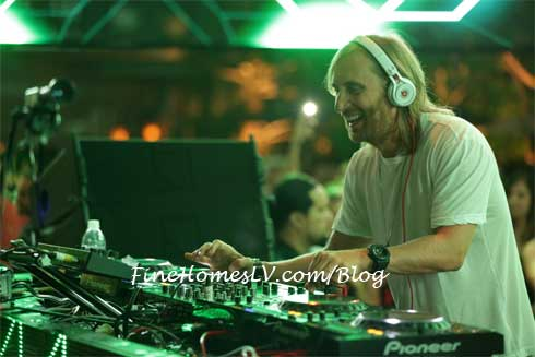 David Guetta at XS Night Swim