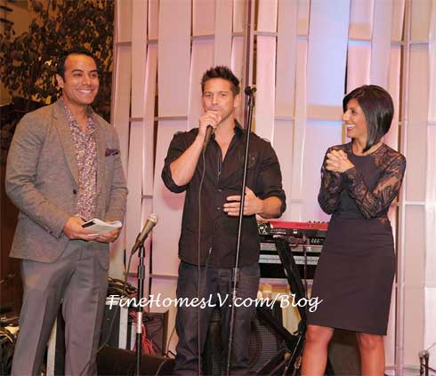 Chris Saldana, Jeff Timmons and Dayna Roselli