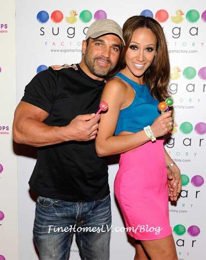 Joe and Melissa Gorga at Sugar Factory