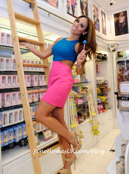 Melissa Gorga With Couture Pop