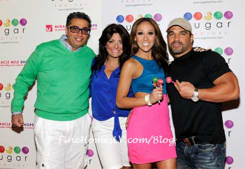 Richard and Kathy Wakile and Melissa and Joe Gorga