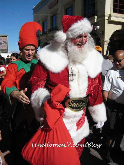 Santa Claus at Tivoli Village