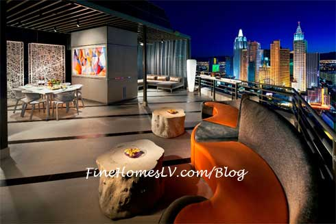Skyline Terrace Suite Balcony