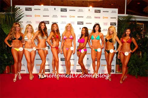 MGM Grand Ring Girls
