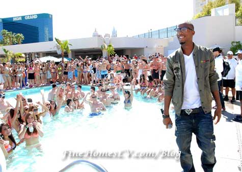 B.o.B. at WET REPUBLIC