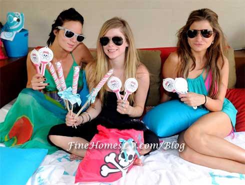 Leticia Busso, Avril Lavigne and Cryn Alpert