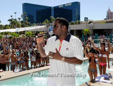 Sean Diddy Combs at WET Republic