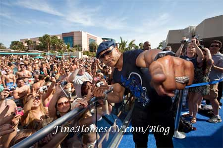 LL Cool J at WET REPUBLIC