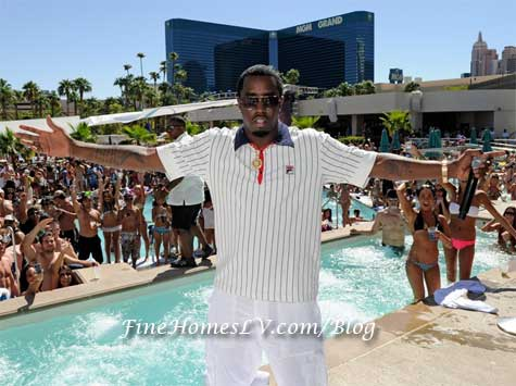 P Diddy at WET Republic