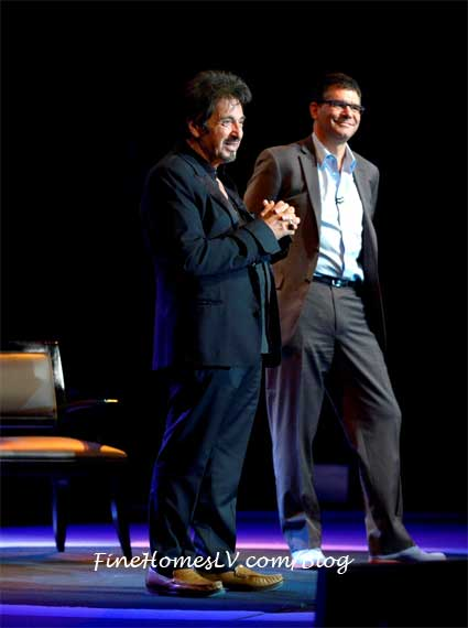 Al Pacino In Pacino One Night Show