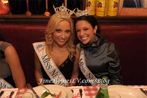 Miss Nevada and Miss New Hampshire