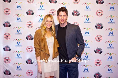 Stephanie Pratt and Arie Luyendyk Jr.