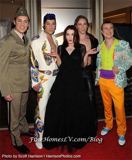 Priscilla Presley and Viva Elvis
