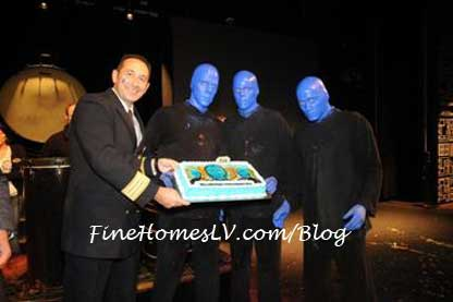 Blue Man Group on the Norwegian Epic