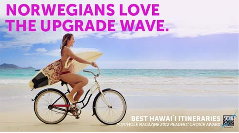 Hawaii Cruise Sale Upgrade Wave